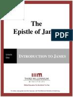 The Epistle of James - Lesson 1 - Transcript