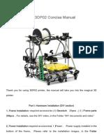 DIY Printer Concise Manual