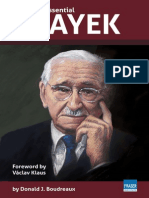 The Essential Hayek by Prof. Donald Boudreaux