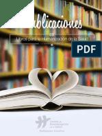 Catalogo de Publicaciones 2015