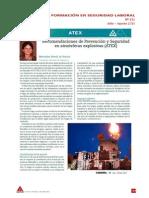 2010-07 ATEX Recomendaciones Prev y Seg