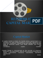 Reforms in Capital Market
