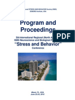 "Final Program and Proceedings - 5th International Regional ""Stress and Behavior"" Neuroscience and Biopsychiatry Conference (North America), June 22-24, 2015, Miami, FL, USA"