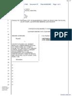 Goddard v. County of Kern, et al - Document No. 37