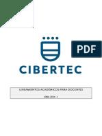 Lineamientos Académicos Para Docentes CIBERTEC 2014-I - Lima