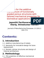 design for the additive manufacture