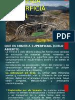 1. Mineria Superf. en El Peru