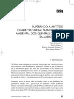 Planejamento Ambiental de Quintais de Salvador, Bahia