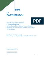 ESI Fondovi - Sporazum o Partnerstvu RH i EK