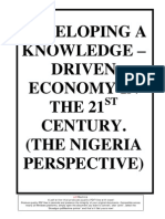 DEVELOPING A KNOWLEDGE – DRIVEN ECONOMY IN THE THIRD WOLD NATIONS
