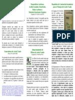 Used Oil Brochure Spanish