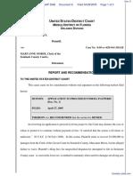Rowsey v. Morse - Document No. 6