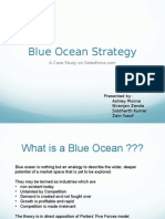 Blue Ocean Strategy Salesforce.com