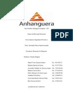 Capa Anhanguera-GO Eng. Mecânica