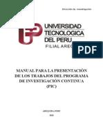 Guia Delproyecto de Investigación Descriptiva, III-IV Ciclos