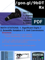 unit 2  math stations  sig digits sci notation unit conversion