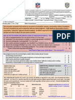 NFL Concussion Assessment Tool