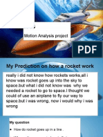 rockets project motion analysis