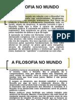 A FILOSOFIA NO MUNDO.ppt
