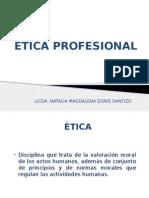 1. Presentacoin Etica Profesional