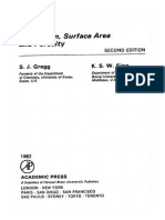 Adsorption, Surface Area and Porosity, Gregg (1982)