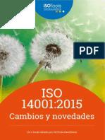 Cambios y Novedades en el 14001 2015