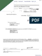 Google Inc. v. Wolfe - Document No. 5