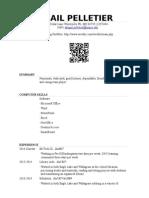 abigail pelletier teaching resume