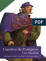 Ediciones Godot Leo Masliah Cuentos de Pompeyo