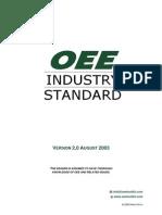 Estándard Industrial OEE