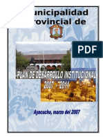 Plan de Desarrollo Institucional Final