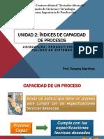 Indices de capacidad de procesos