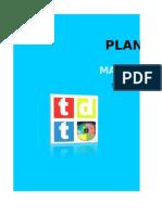 Plan de Marketing TDT