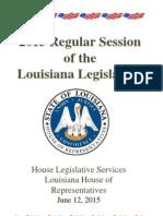 2015 Legislative Session WRAP June 12