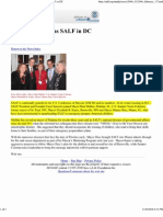 Save A Life Foundation, Rita Mullins, and the US Conference of Mayors (2002-2006)