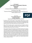 Howard J. Foster Physics & Mathematics Education Symposium.docx