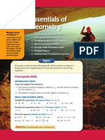01 Essentials of Geometry