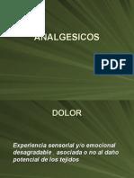 MEDICAMENTOS Analgesicos