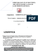 Administración de Recursos Logistica