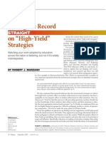setting the record straight on hield yield strategies