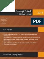 01 Pendahuluan Geologi Teknik