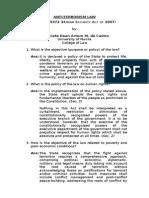 9.4.2013 Anti-terrorism Law