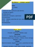 Programa Paseo de Curso