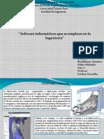 Software Informáticos Que Se Emplean en La Ingeniería