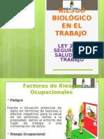 RIESGO BIOLÓGICO EN EL TRABAJO.ppt