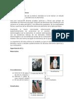 Informe de Química 2