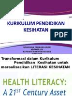 3. Kurikulum Pendidikan Kesihatan
