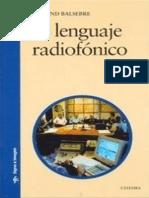 El Lenguaje Radiofonico - Armand Balsebre