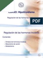 02 Curso Hipotiroidismo SMNE - Regulacion Hormonal[1]
