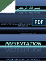 Presentation of e Banking